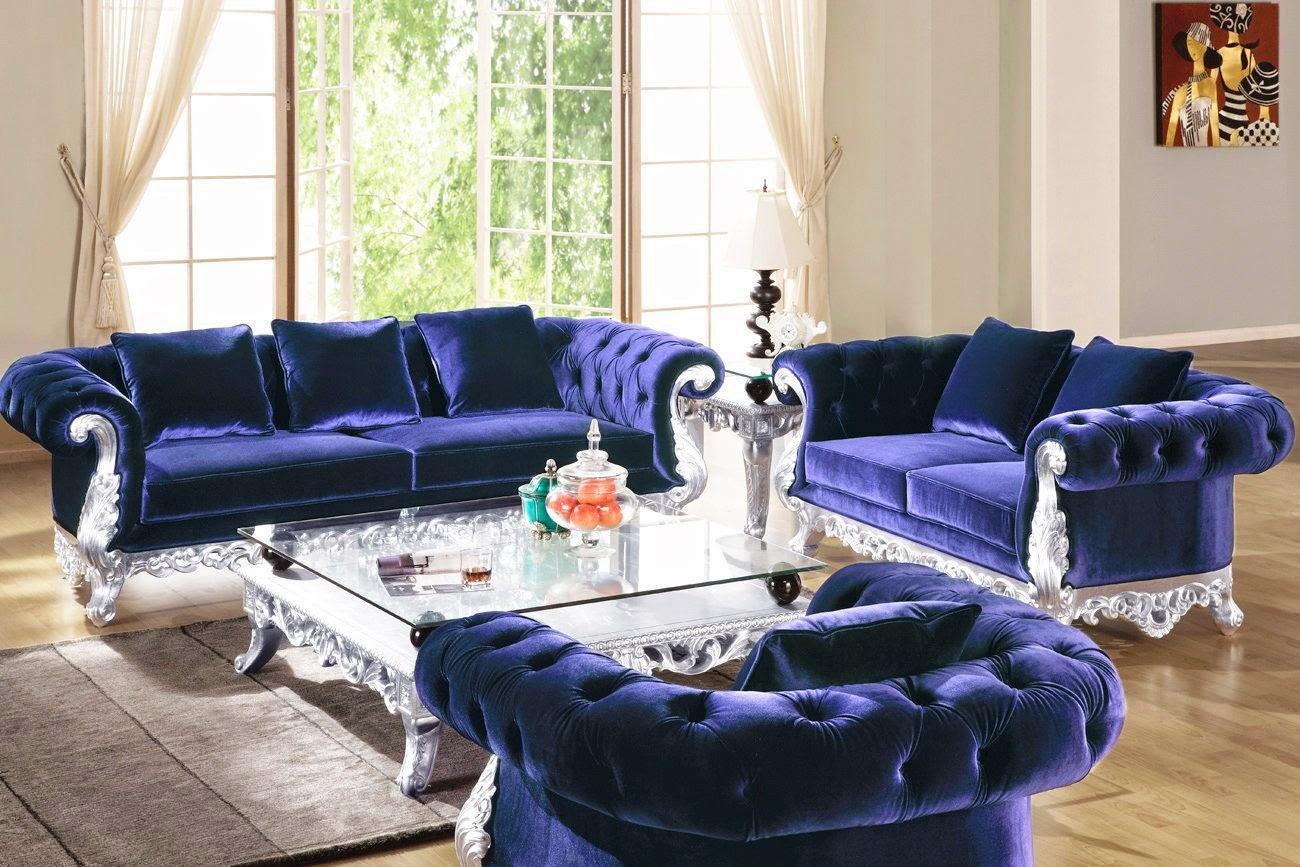 Emma Tufted Sofa Chenille Sectional Sleeper Velvet Couch