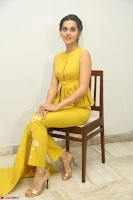 Taapsee Pannu looks mesmerizing in Yellow for her Telugu Movie Anando hma motion poster launch ~  Exclusive 021.JPG