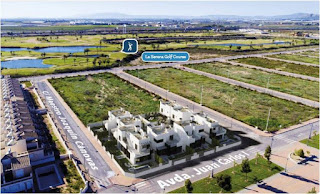 Affordable new build modern golf properties on La Serena Golf Course