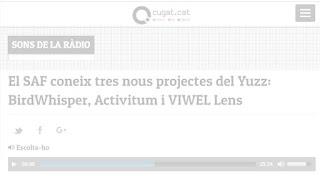 Entrevista en Cugat.cat