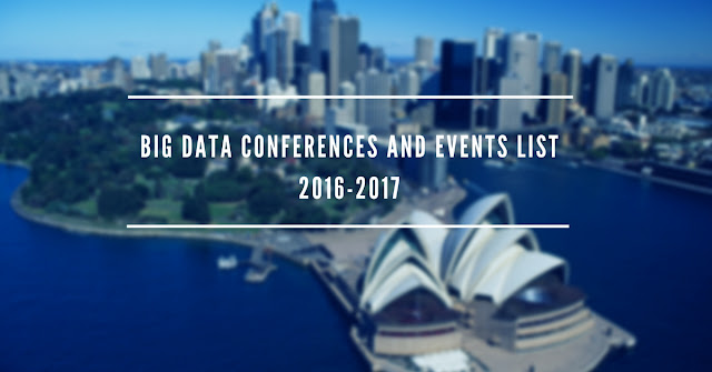 Big Data Conferences and Events