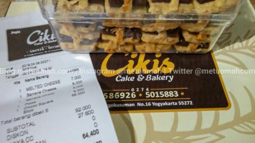 Cikis, Lini Usaha Cake & Bakery dari Bale Ayu