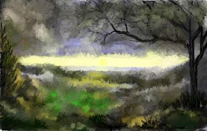 Dark impression landscape