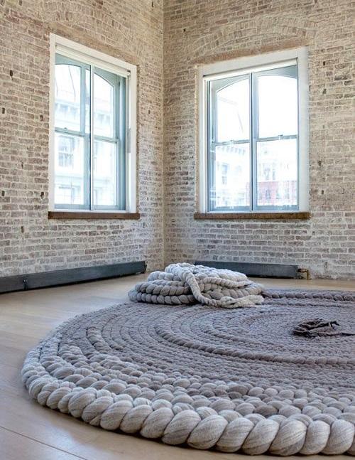 dywany z warkoczy