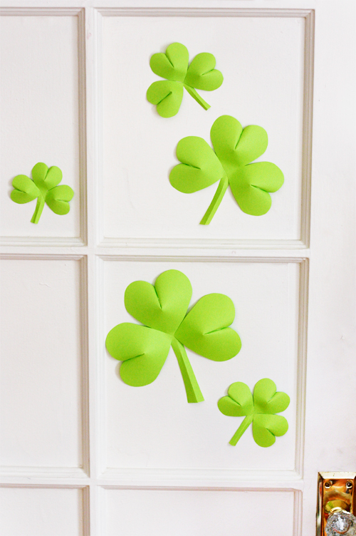 Easy-to-make St. Patrick's Day decorations | How About Orange