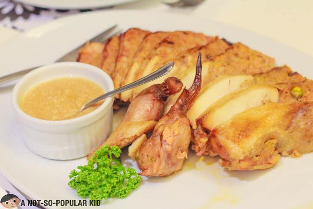 Lola Virginia's Chicken Relleno of Romulo Cafe