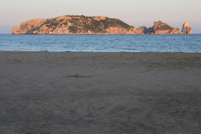 Illes Medes from the beach of L'Estartit