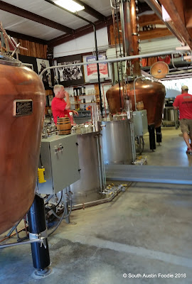 Garrison Brothers Bourbon still house