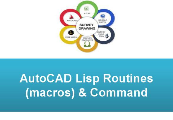 Autocad Free Lisp Routines (macros)