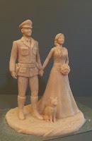 idee regalo marito moglie sposi sculture modellini fatti a mano orme magiche