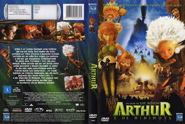 Capa DVD ARTHUR E OS MINIMOYS