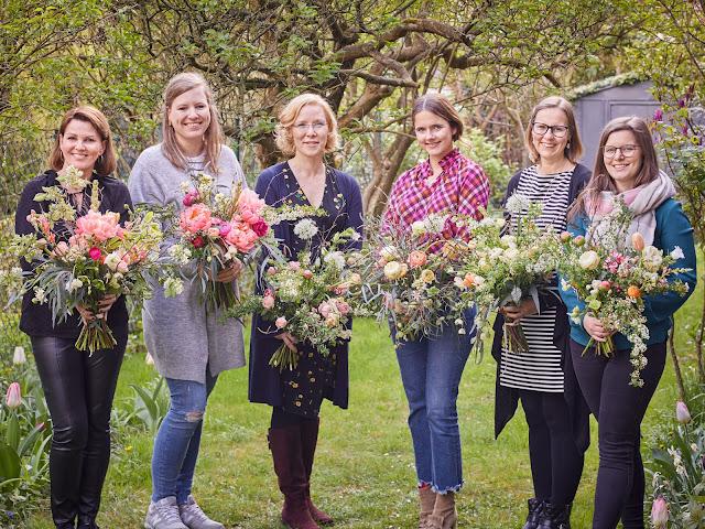 Workshop Team Meine Blumen und ich Jules kleines Freudenhaus