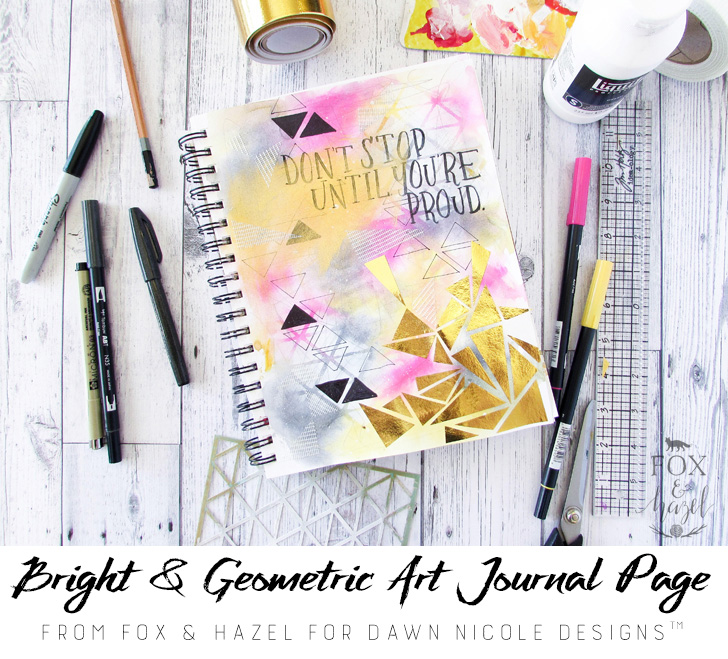 art journaling supplies