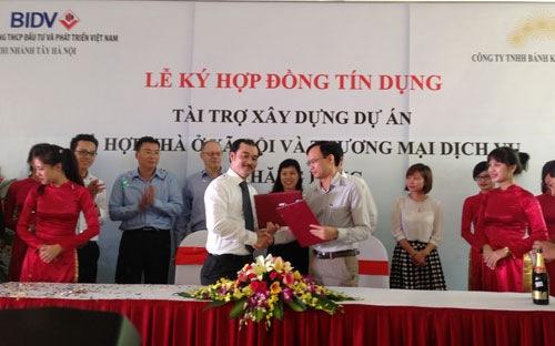 lễ ký hợp đồng tài trợ dự án