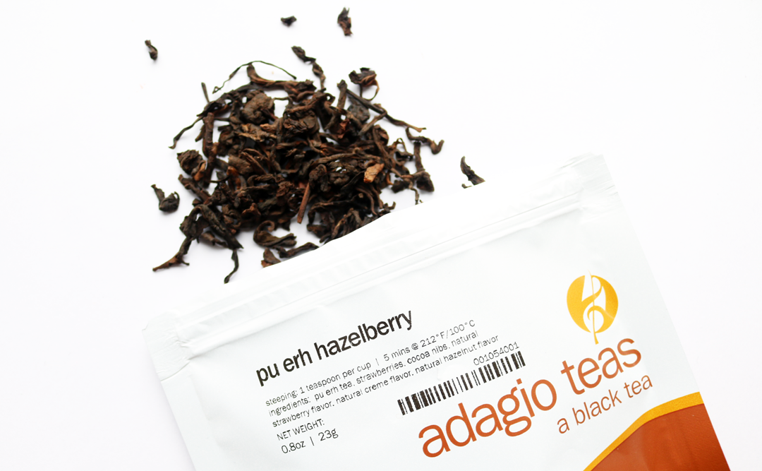 Adagio Teas Pu erh Hazelberry
