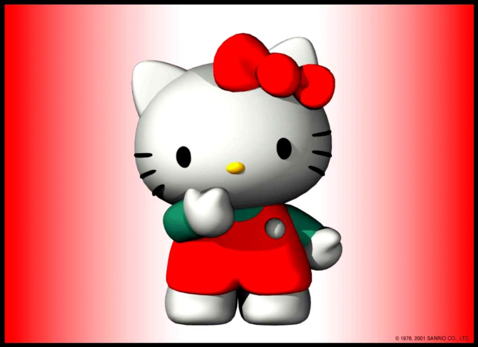 Hello Kitty 3d Wallpaper Wallpapers Quality