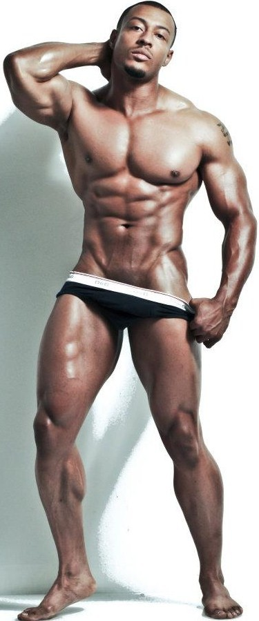 Urban Black Male Model