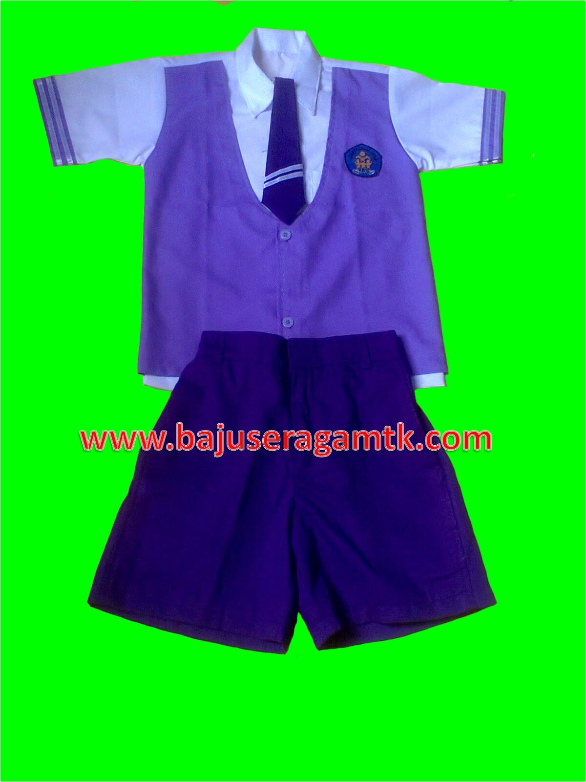 seragam tk seragam paud nasional