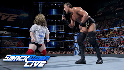 Big Cass Daniel Bryan Colin Cassidy Little Person SmackDown Live
