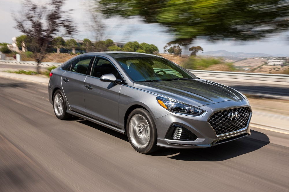 2018 Hyundai Sonata earns IIHS Top Safety Pick+ award