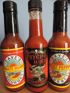 psycho juice hot chilli pepper sauce