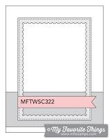MFT Sketch Challenge 322 #mftstamps