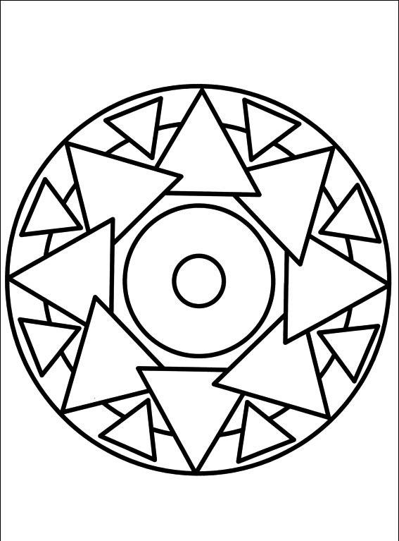 Okul Oncesi Art Print 4 5 Yas Grubu Icin Mandala