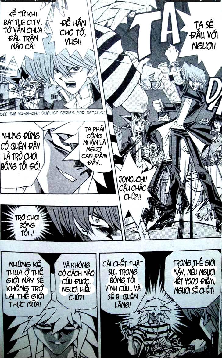 YUGI-OH! chap 307 - shadow fall!! trang 9