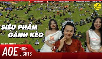 AoE Highlight | Trận đấu đỉnh nhất năm 2020 với màn lội ngược dòng kinh điển