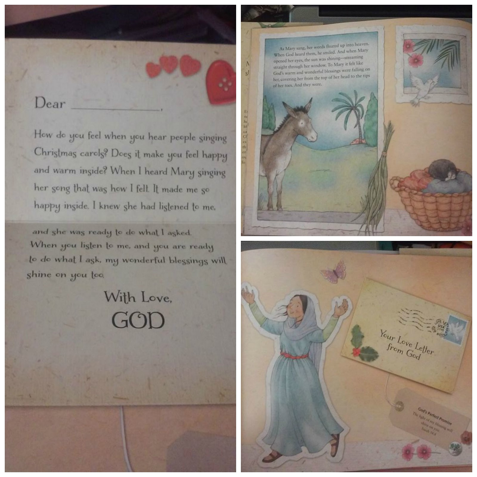 Our life home and school christmas love letters from god book i cannot wait to give this beautiful book to my 5 year old daughter for christmas she loves books and this will be a perfect book to add to her collection spiritdancerdesigns Choice Image
