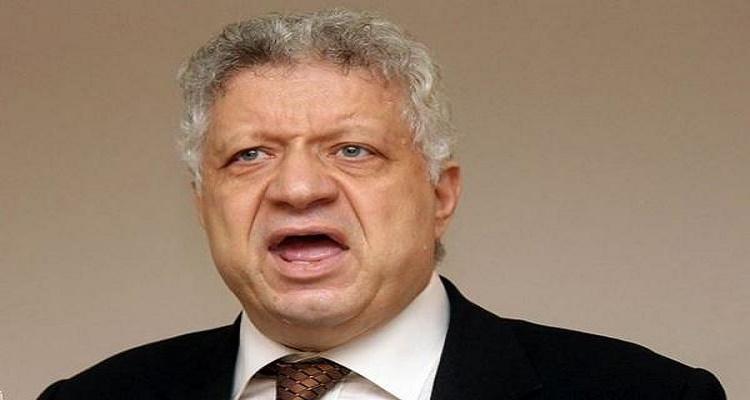 مرتضى منصور سكران و يقول كلاما لا يصدق لميدو ويسبه هو ووالده وأخوه