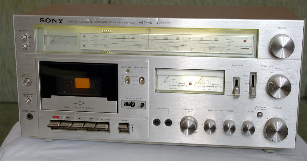 Vintage Audio And Music Instruments Sony Hst 49