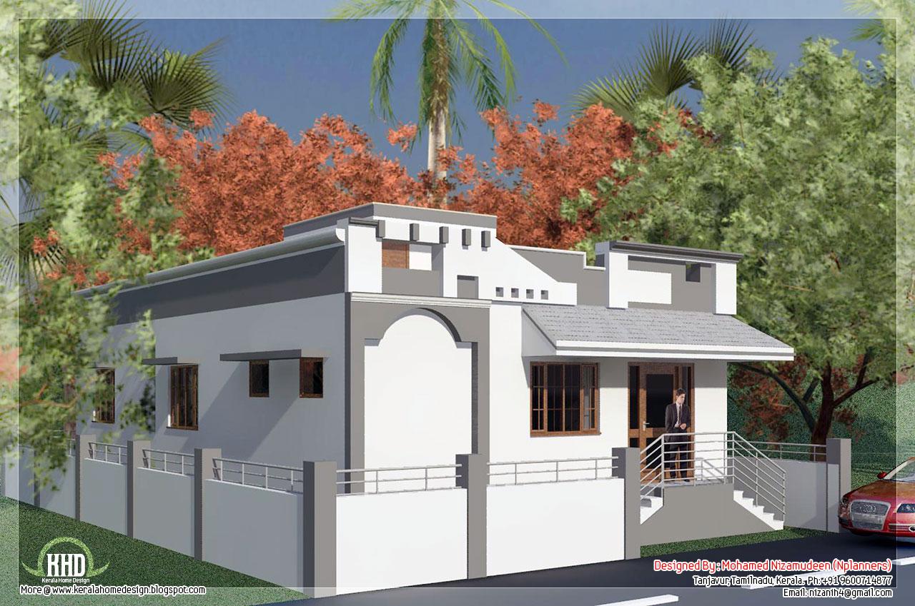 Tamilnadu Style Single Floor House In 1092 Sq Feet House Design