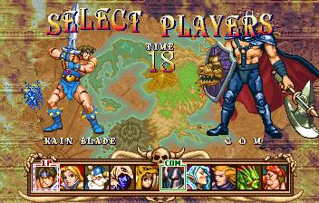Golden Axe the duel arcade game portable retro download free
