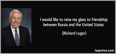 Quotes About Friendship: I would like to raise my glass to friendship between Russia and the United States,