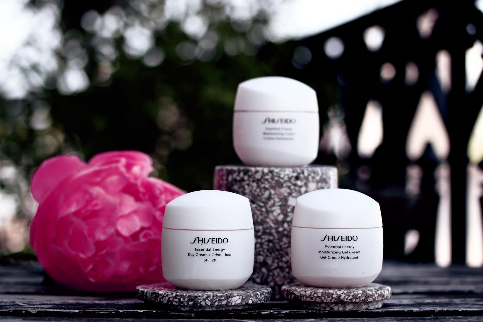 shiseido essential energy soins hydratants creme avis test