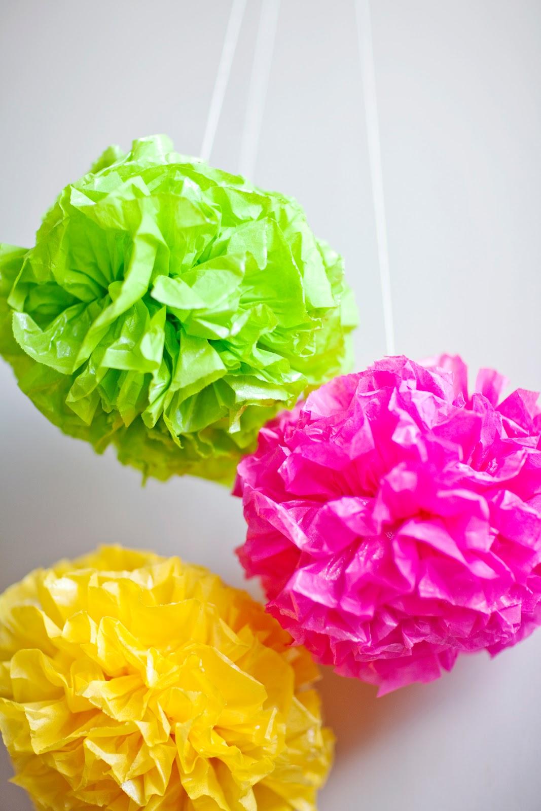 Make It Cara Membuat Bunga Pompom Dari Kertas Hello