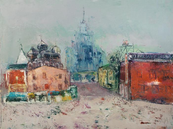 Современный российский художник. Игорь Агава (Авраменко)