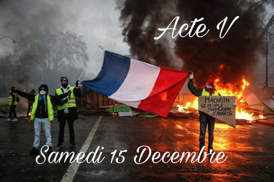 ✓ GILETS JAUNES STOP ISF – ACT V