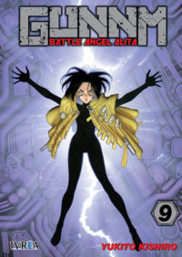 GUNNM (BATTLE ANGEL ALITA) #9