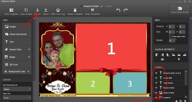 Singurul blog din Romania care ofera template photobooth gratuit!