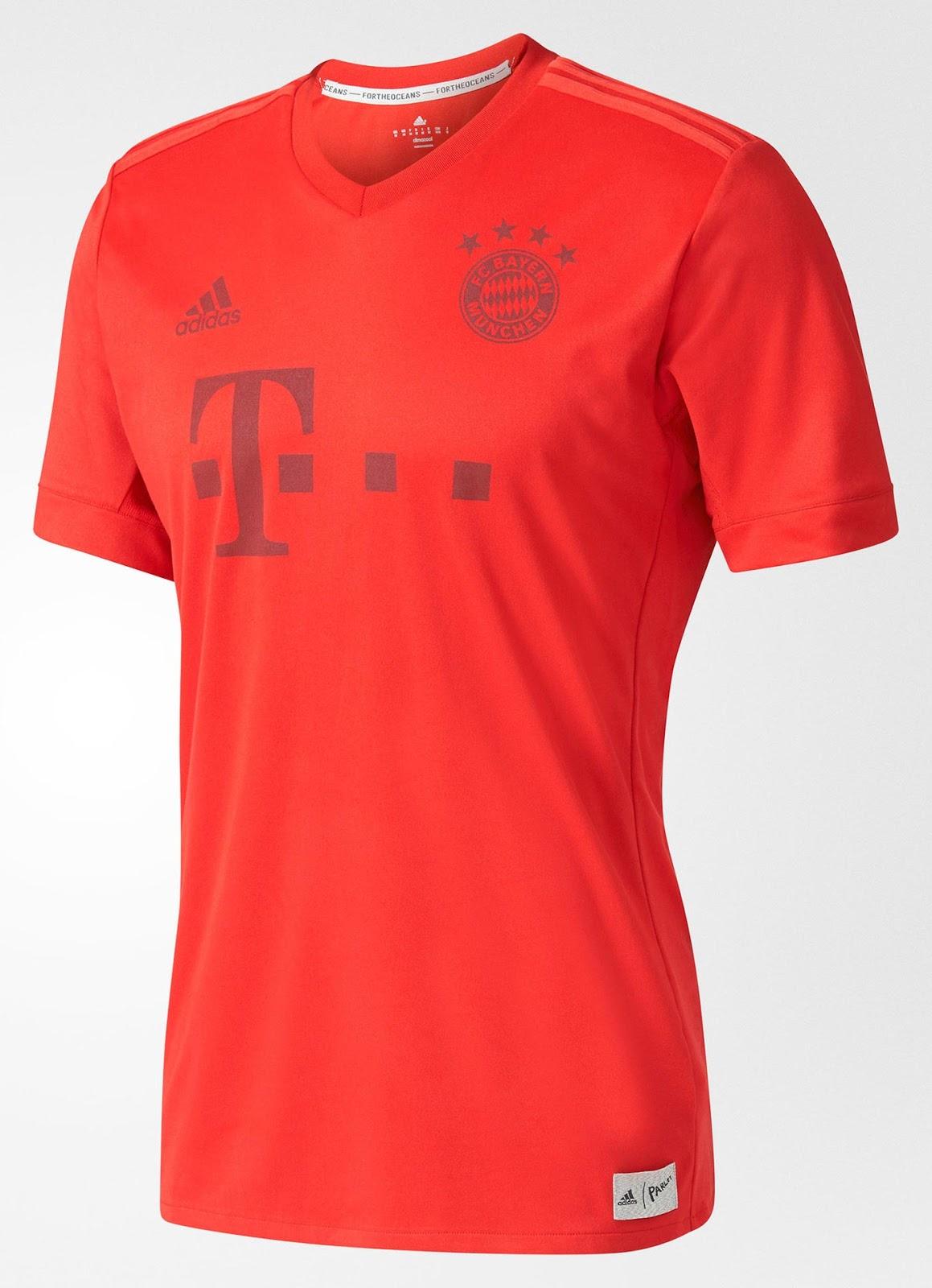 761150c1e4 Bayern de Munique lança nova camisa feita com resíduos de plástico. Gostou?