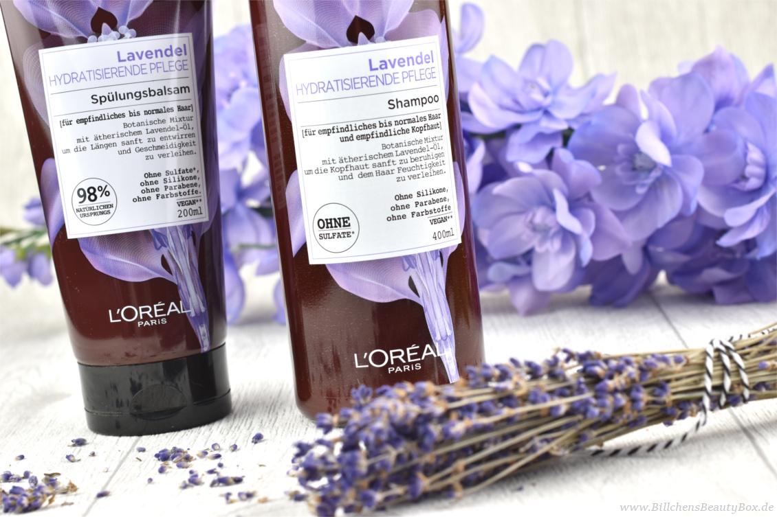 Review und Erfahrungsbericht zur L'Oréal Botanicals Lavendel Haarpflege Shampoo und Spülung