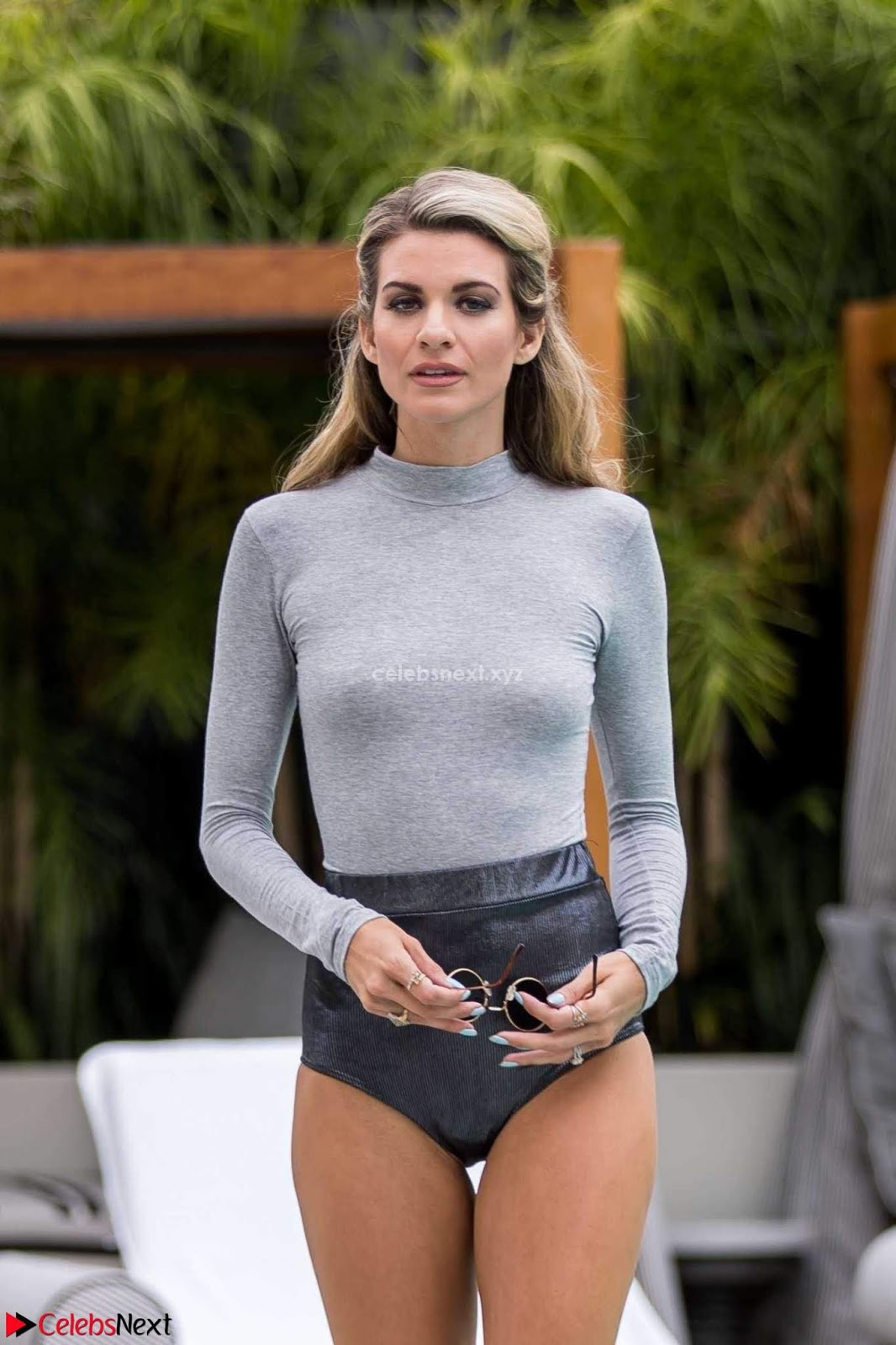 Rachel McCord Beach Side Tight T-Shirt and Panites Hot Huge Boobs ~ CelebsNext.xyz Exclusive Celebrity Pics