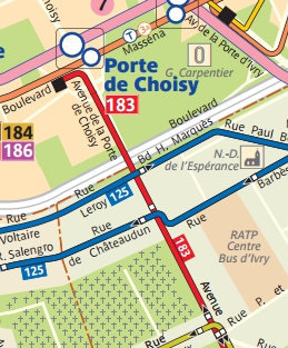 Public transport experience very jolly by paris trolley 3 - Bus 183 porte de choisy horaire ...