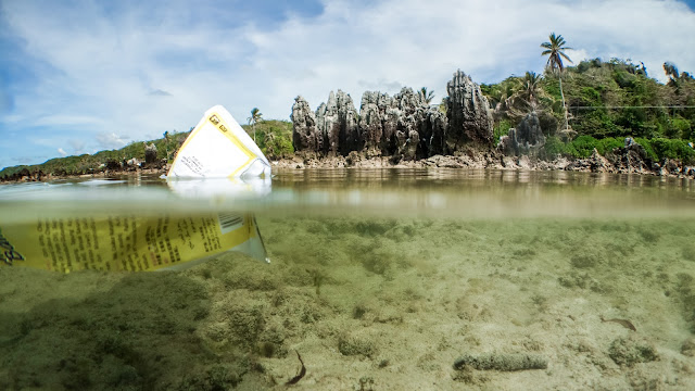 Also in Nauru there is problem with plastic pollution