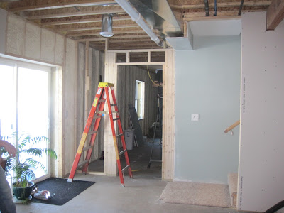 building on love: basement progress