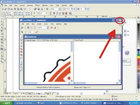Cara Trace / Memecah Gambar JPG Melalui Corel Draw
