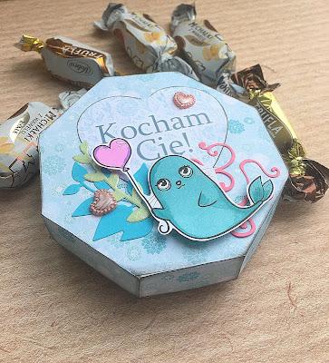 Walentynkowe pudełko na cukierki