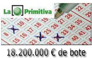loteria primitiva del sábado 25 de marzo de 2017